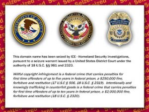 Government Seizes Domains Alleged to Infringe Copyright