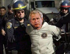 Bush Cancels Visit to Switzerland After Arrest Threat