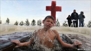 Baptism By Ice: Russia's Trend of Dipping Children In Frozen Rivers