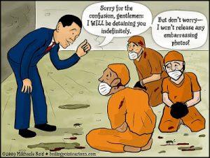 Obama Issues Executive Order Institutionalizing Indefinite Detention