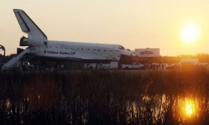 Space Shuttle Atlantis Touches Down, Ending An Era of Adventure In Space
