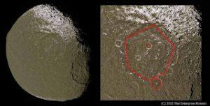 Iapetus: Is Saturn Moon Artificial?