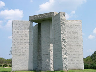 who built the georgia guidestones?