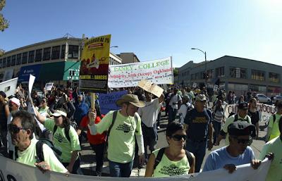 #occupyoakland general strike brings labor, schools into streets