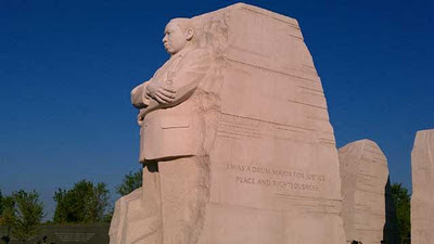mlk day: quote to be changed on made-in-china memorial