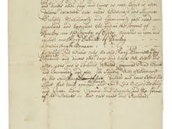 'Salem Witch Trials' Document Up for Auction