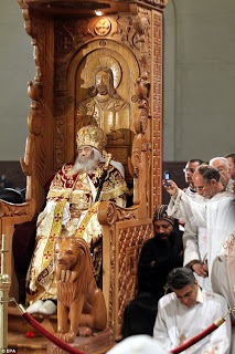 Coptic Pope's Death Adds to Fears in Egypt's Time of Transition