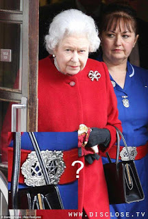 Queen Elizabeth's Belt Reveals Affiliations