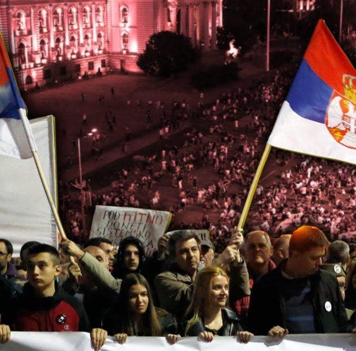 #NewWorldNextWeek: The People Win As Serbians Force Government to Scrap Curfew (Video)