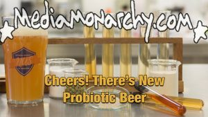 #GoodNewsNextWeek: Cheers! There's New Probiotic Beer (Video)