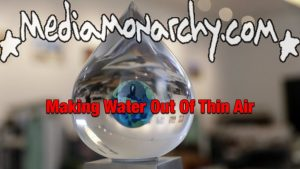 #GoodNewsNextWeek: Making Water Out Of Thin Air (Video)