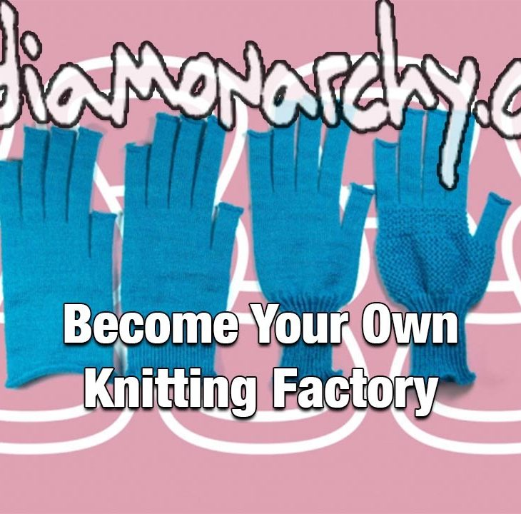 #GoodNewsNextWeek: Become Your Own Knitting Factory (Video)