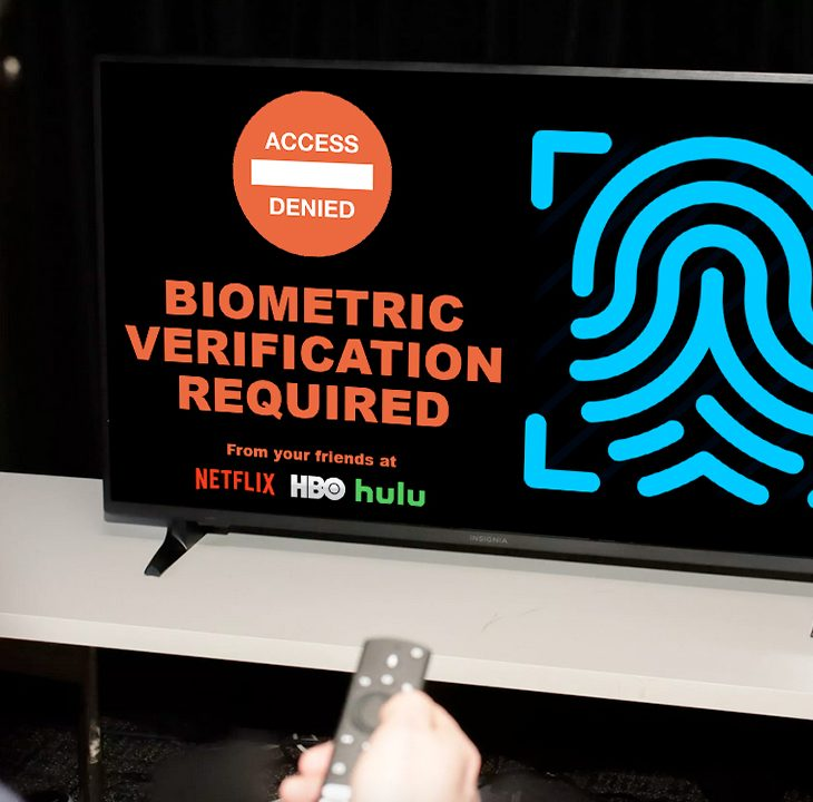 #NewWorldNextWeek: Streaming Services Dropping Passwords for Thumbprints (Video)