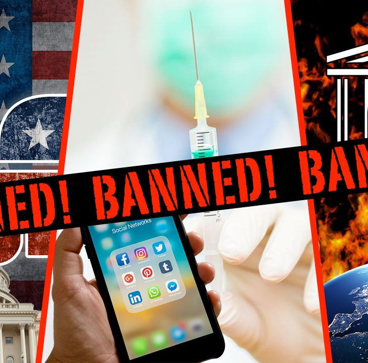 #NewWorldNextWeek: Government Wants To Ban Everything! (Video)