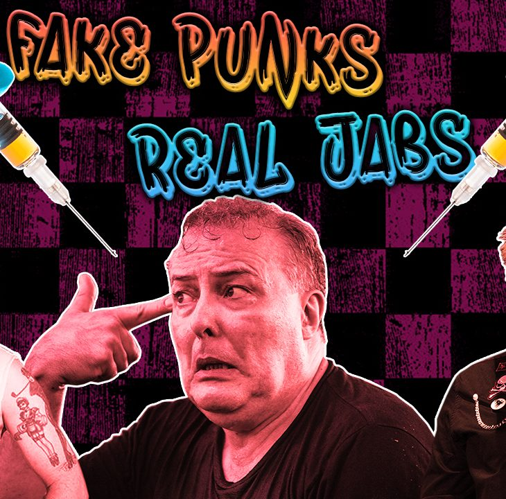 #NewWorldNextWeek: Fake Punks Get The Real Jab (Video)