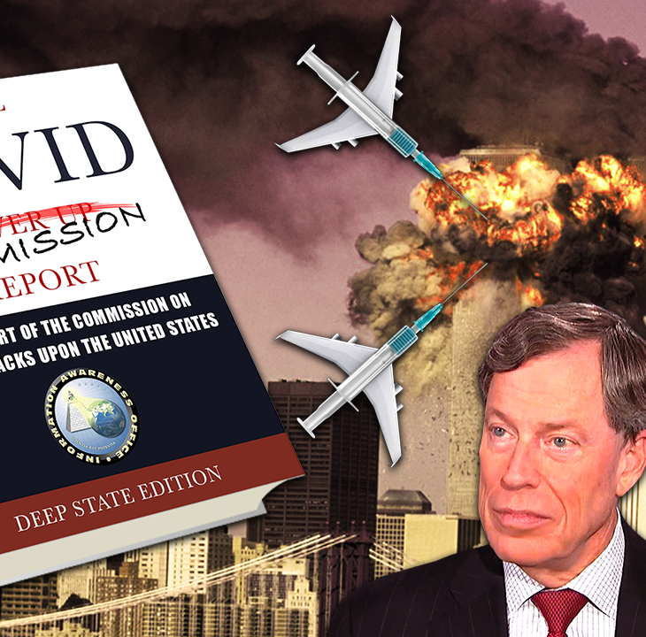 #NewWorldNextWeek: 9/11 Cover Up Director Appointed to Chair COVID Cover Up Group (Video)