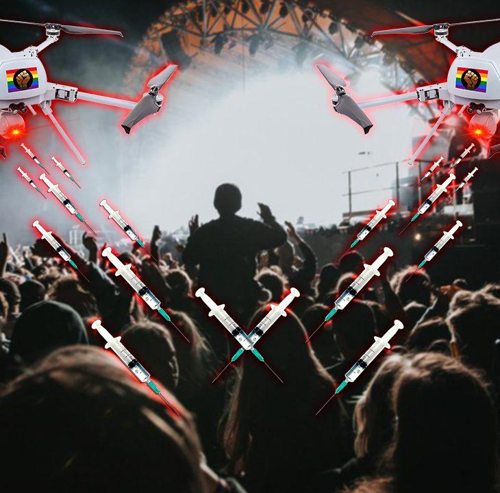 #NewWorldNextWeek: Covid Cash-In Concert Drones On (Video)